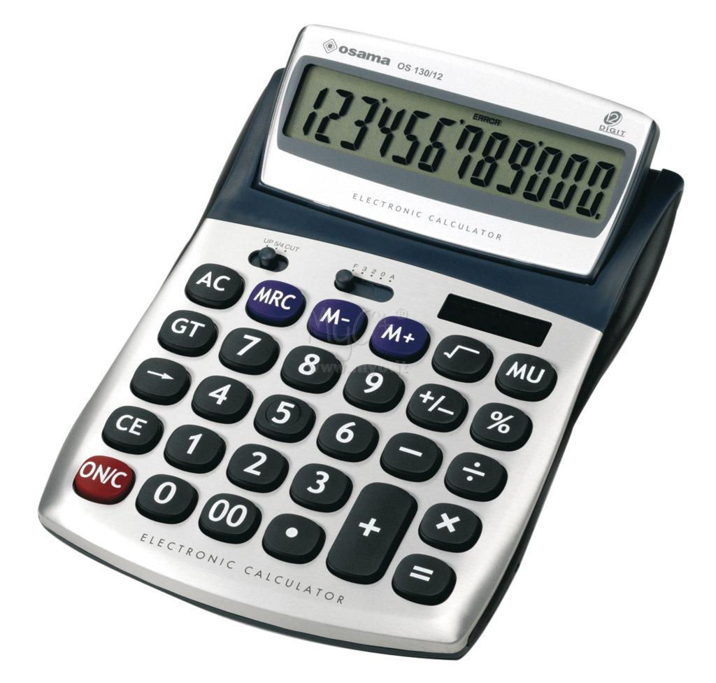 Calcolatrice Os 130 12 Acquista In Myo S P A Cancelleria